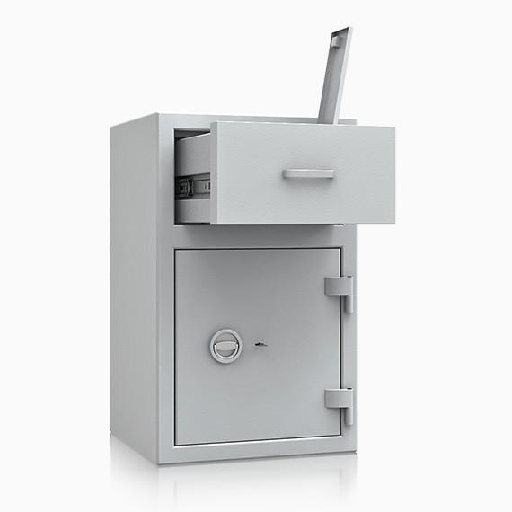 Bern Deposit OV II 0 - Deposit-Wertschutzschrank D-II, Schublade vorn ohne Schloss