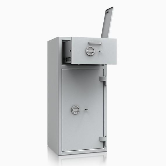Bern Deposit 61 - Deposit-Wertschutzschrank D-II, Schublade vorn mit Schloss