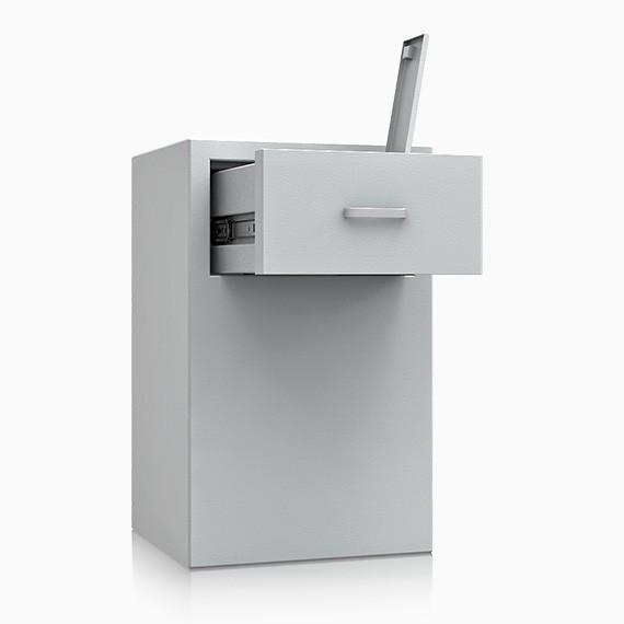 Bern Deposit OV II 2 - Deposit-Wertschutzschrank D-II, Schublade rückseitig ohne Schloss